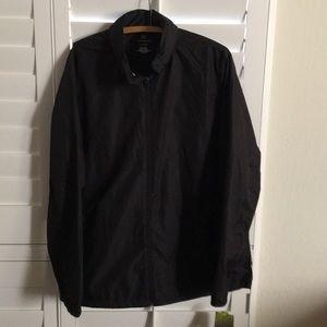TEK Gear black windbreaker XL